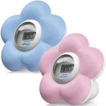 Avent kamer en badthermometer