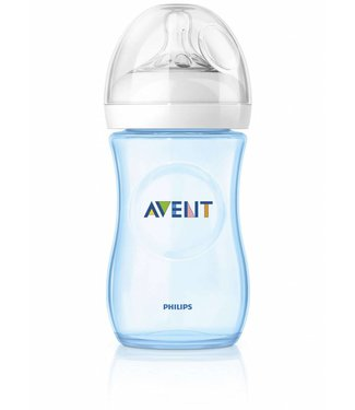 Avent Avent natural blue baby bottle 260ml