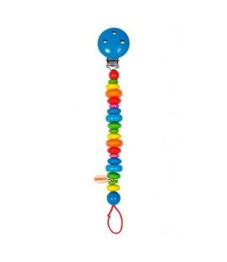 Heimess Heimess wooden pacifier chain vital color