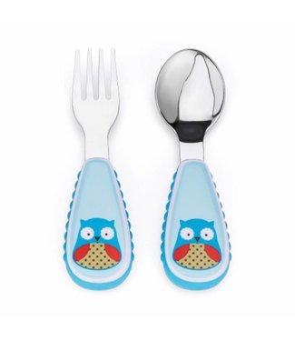 Skip hop Toddler cutlery set Zoo Owl