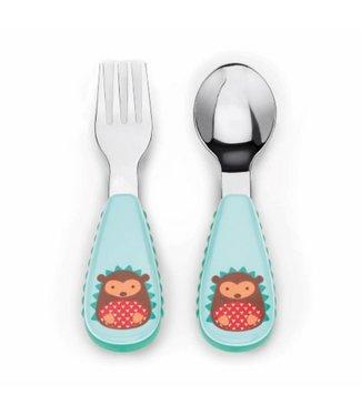 Skip hop Toddler cutlery set Zoo Hedgehog