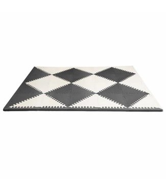 Skip hop Puzzle game mat Geo black / cream