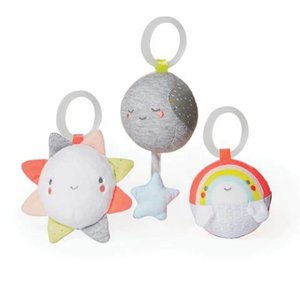 Skip hop Activity silver lining cloud ball trio