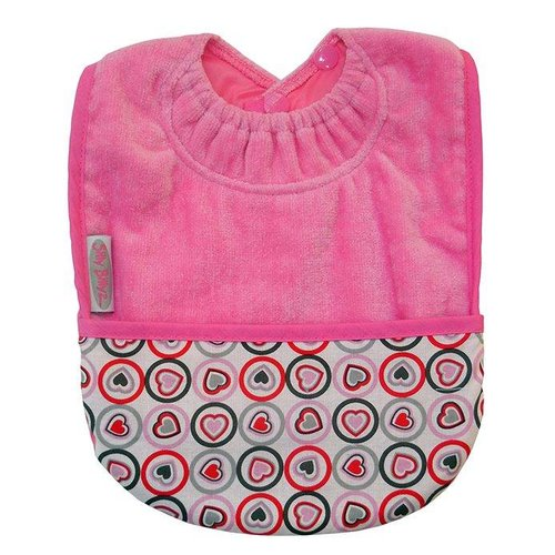 Silly Billyz Roze pocket slab hartjes