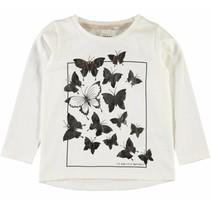 Witte meisjes t-shirt NMFGIRULLA