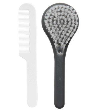 Luma Babycare Brush + comb Dark gray Luma