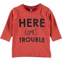 Oranje jongens t-shirt Gikko