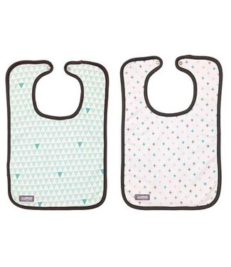 Luma Babycare Set of 2 bibs Misty Mint
