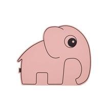 Roze placemat olifant