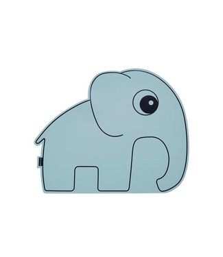 Done by deer Blue placemat elephant