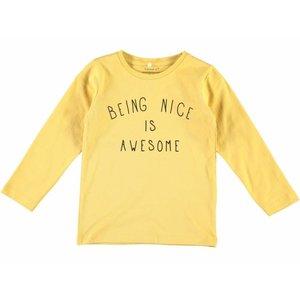 Name-it Name-it gele jongens t-shirt Damsko