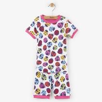Hatley 2-delige korte pyjama Ladybirds