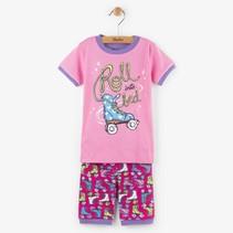 Hatley 2-delige korte pyjama Roller girl