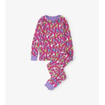 Hatley 2-delige pyjama Roller girl