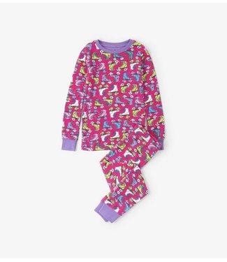 Hatley Hatley 2-delige pyjama Roller girl