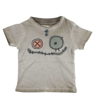 Small rags Groene t-shirt Gary Dusted Clay