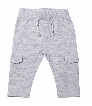 Dirkje kinderkleding Boys pants blue melange