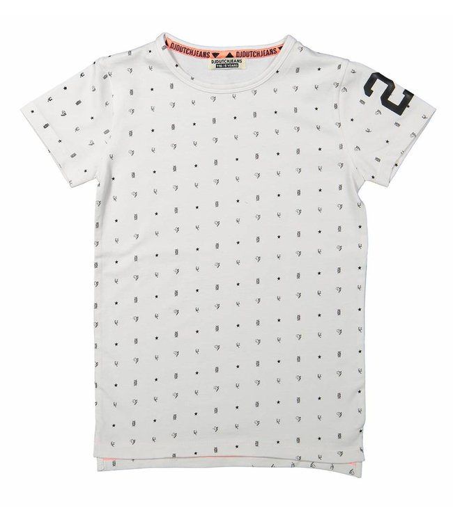 Dj Dutchjeans T-shirt aop extra long