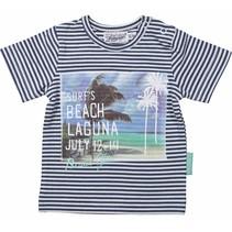 Jongens t-shirt stripes Laguna