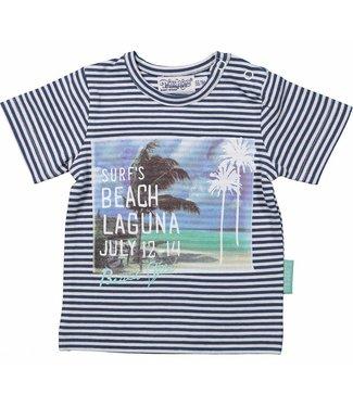 Dirkje kinderkleding Jongens t-shirt stripes Laguna