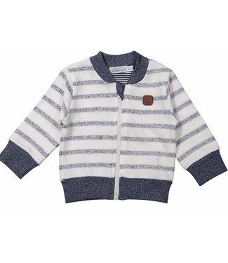 Dirkje kinderkleding Boys cardigan blue stripes