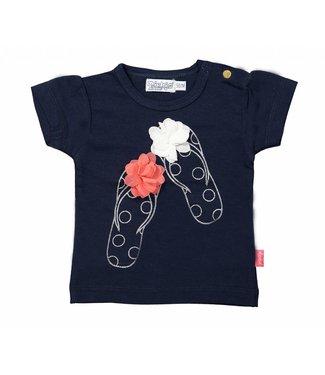 Dirkje kinderkleding Girls t-shirt flip flops