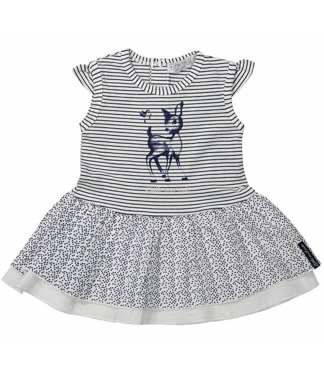 Dirkje kinderkleding Meisjes jurk Little and cute