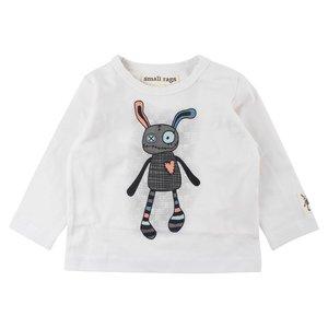 Small rags Witte jongens t-shirt Gavi