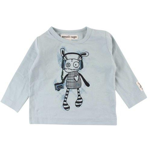 Small rags Blauwe jongens t-shirt Gavi