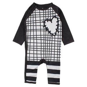 Small rags Small Rags zwart boxpakje heart