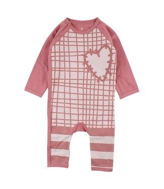 Small rags Petit chiffon rose box costume coeur