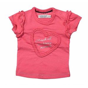 Dirkje kinderkleding Dirkje roze t-shirt Cherish moments