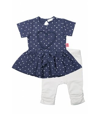 Dirkje kinderkleding Girls set 2st heart