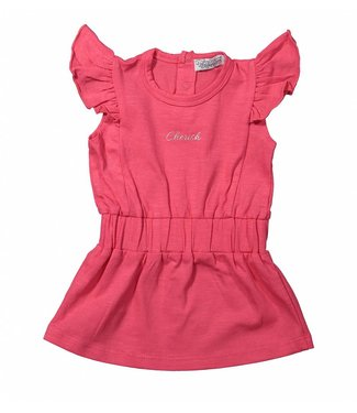 Dirkje kinderkleding Dirkje roze meisjes jurk Cherish