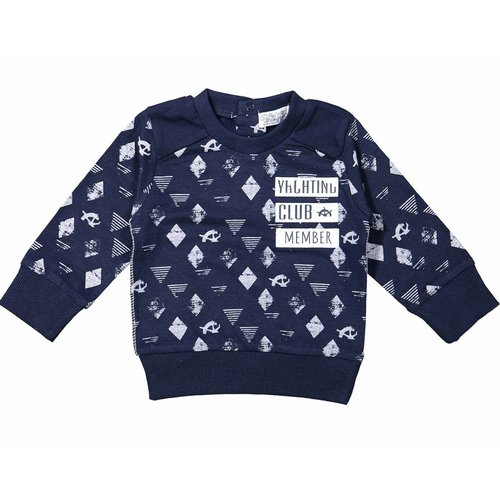 Dirkje kinderkleding Dirkje jongens sweater yachting club