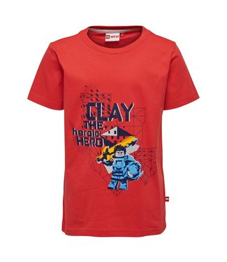 Lego wear Legowear T-shirt Nexo Knights - Clay rood