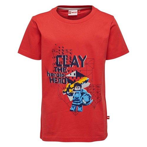 Lego wear Legowear T-shirt Nexo Knights - Clay rood