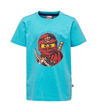Lego wear Legowear T-shirt Ninjago - Kai  Licht blauw