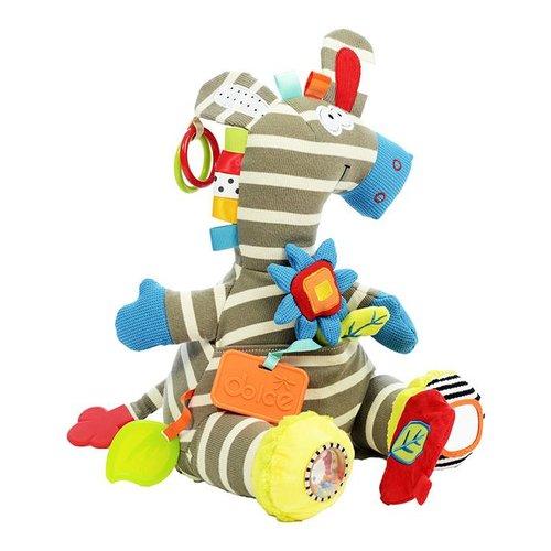 Dolce toys Dolce toys Knuffel Activity Zebra