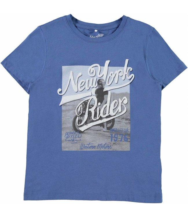 Name-it Name-it t-shirt Honkey blauw