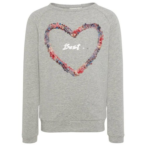 Name-it Name-it sweater Jolie Grey melange