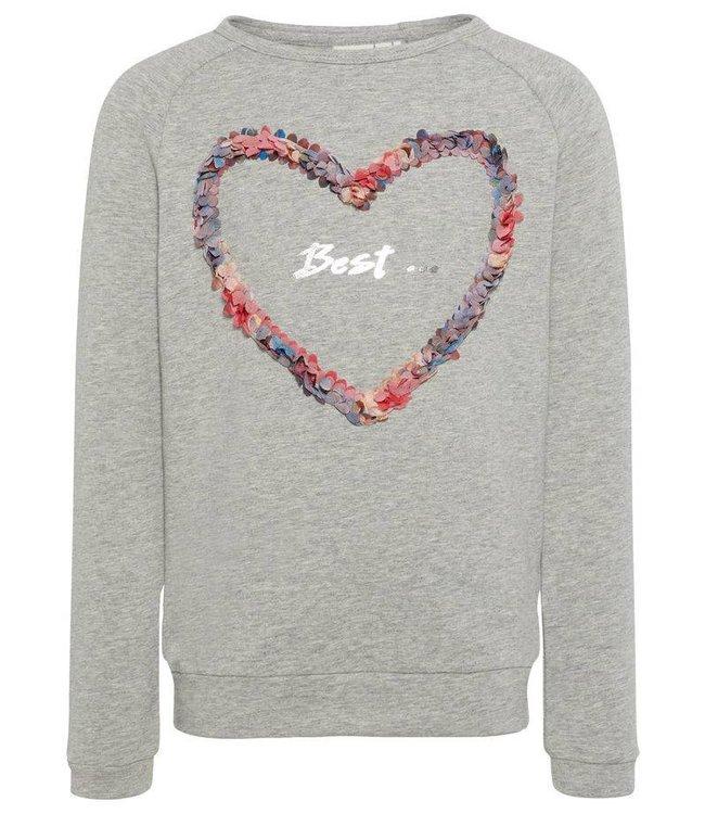 Name-it Name-it sweater Jolie Grey melange
