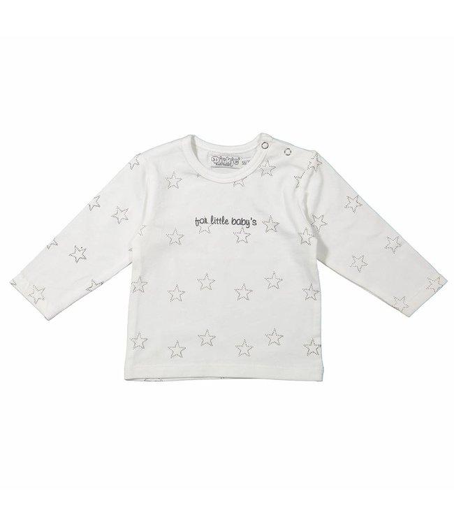 Dirkje kinderkleding Dirkje 't shirt stars for little babies