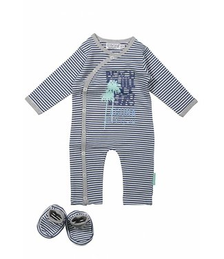 Dirkje kinderkleding Dirkje babysuit sttripes + booties