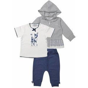 Dirkje kinderkleding Dirkje meisjes kleding setje 3st So little and cute