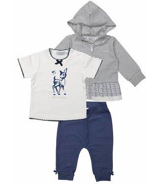 Dirkje kinderkleding Dirkje girls clothing set 3st So little and cute