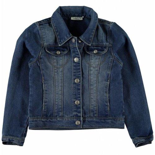 Name-it Name-it jeans jas Star Rika Medium blue denim