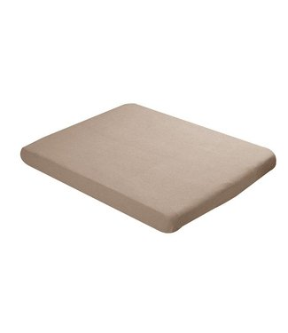 Babybest Babybest fitted sheet jersey 75x95cm brown
