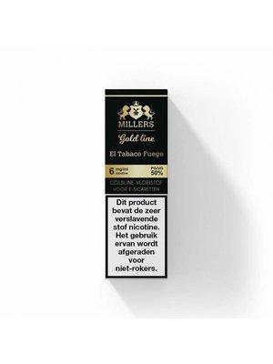 millers goldline millers el tabaco fuego