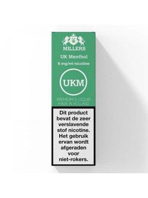 millers silverline Millers UK menthol